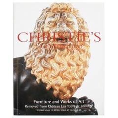 Christie's Works of Art Form Chateau Les Tours De Lenvège Auction Catalog 4/2002