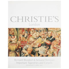 Christie's Bernard Blondeel and Armand Deroyan Important Tapestries and Carpets