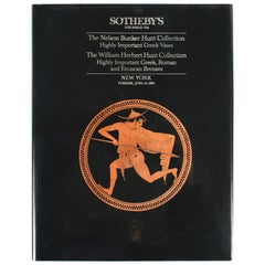 Sotheby's, Hunt Collection Highly Important Greek Vases Roman & Etruscan Bronzes