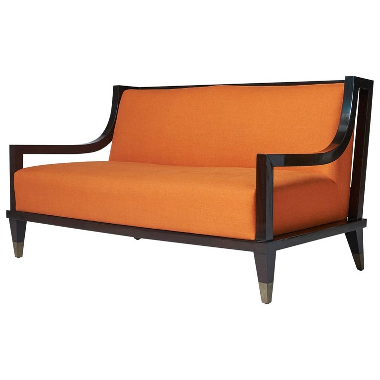 Settee by Mito Block Brothers For Sale