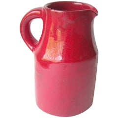 Robert & Jane Cloutier High Glossy Finish/ Ceramic / Terracotta, Pitcher, Large