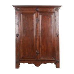 French Late 18th Century Louis XIII-Style Oak Armoire