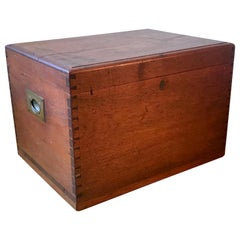 Campaign Wood Box, 20th century