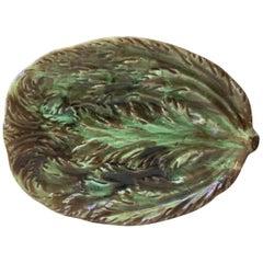 Majolica Asparagus Platter, circa 1890