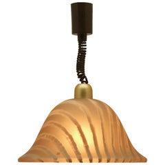 Midcentury Modernist German 1960s Pendant Lamp by Peill & Putzler