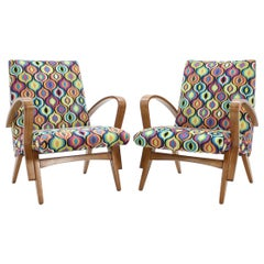 1960s Czechoslovakian Tatra Armchairs by Jirak Frantisek, Set of 2