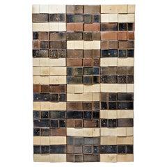Ceramic Wall Panel by Pierre Digan, to La Borne, circa 1970-1975