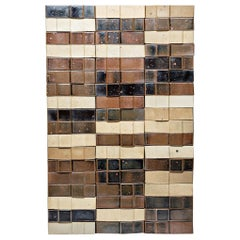 Ceramic Wall Panel by Pierre Digan, to La Borne, circa 1970-1975