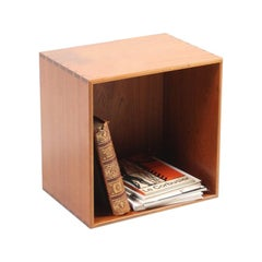 Wall Mounted Square Bookcase by Mogens Koch