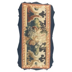 Nice Flamish 17th Century Tapestry Fragment