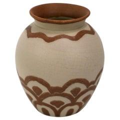 Art Deco Villeroy and Boch Pottery Vase
