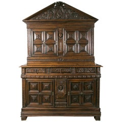 17th Century Furniture Important Supposedly from Northern Italy, Antique Art