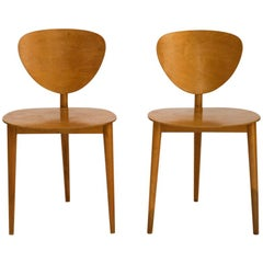 Max Bill Tripod Chairs, 1949