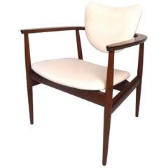 Danish Modern Armchair by Selig