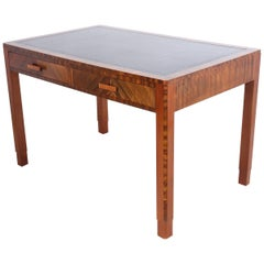 Art Deco Walnut Writing Table by Maple, circa 1930
