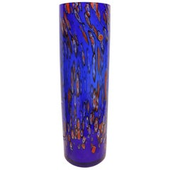 Monumental Murano Art Glass Vase