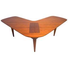 Mid-Century Modern Boomerang Table