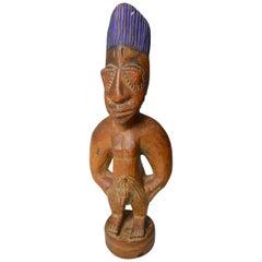 African Tribal Art Fine Old Yoruba Ibeji Igbuke Oyo
