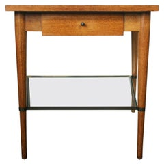 Midcentury Paul McCobb Connoisseur Collection Single Drawer Wedge Table