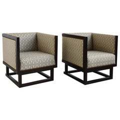 Josef Hoffmann Pair of Cabinet Chairs