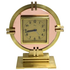 Rare Art Deco Machine Age Clock by Dep, circa 1930