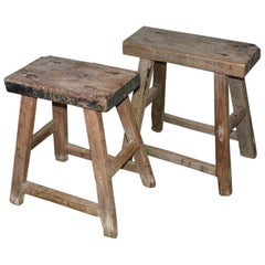 Rustic Asian Stools, Sold Singly