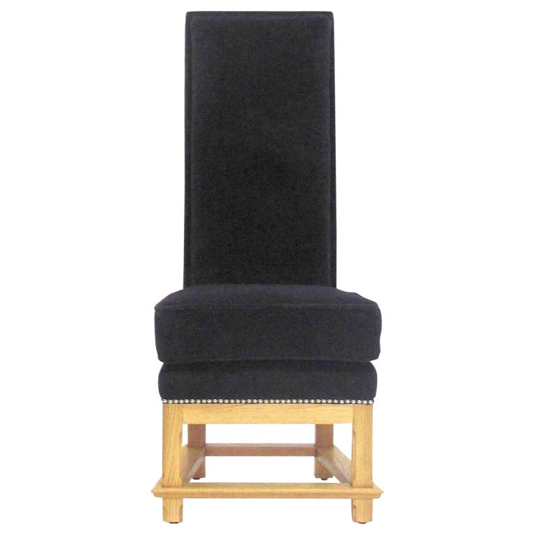 """""""Zeus"""" Chair in the Manner of Jean-Michel Frank For Sale"""