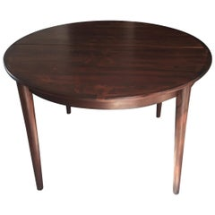 Table MES Mobler Denmark Torring Extendable Round Rosewood