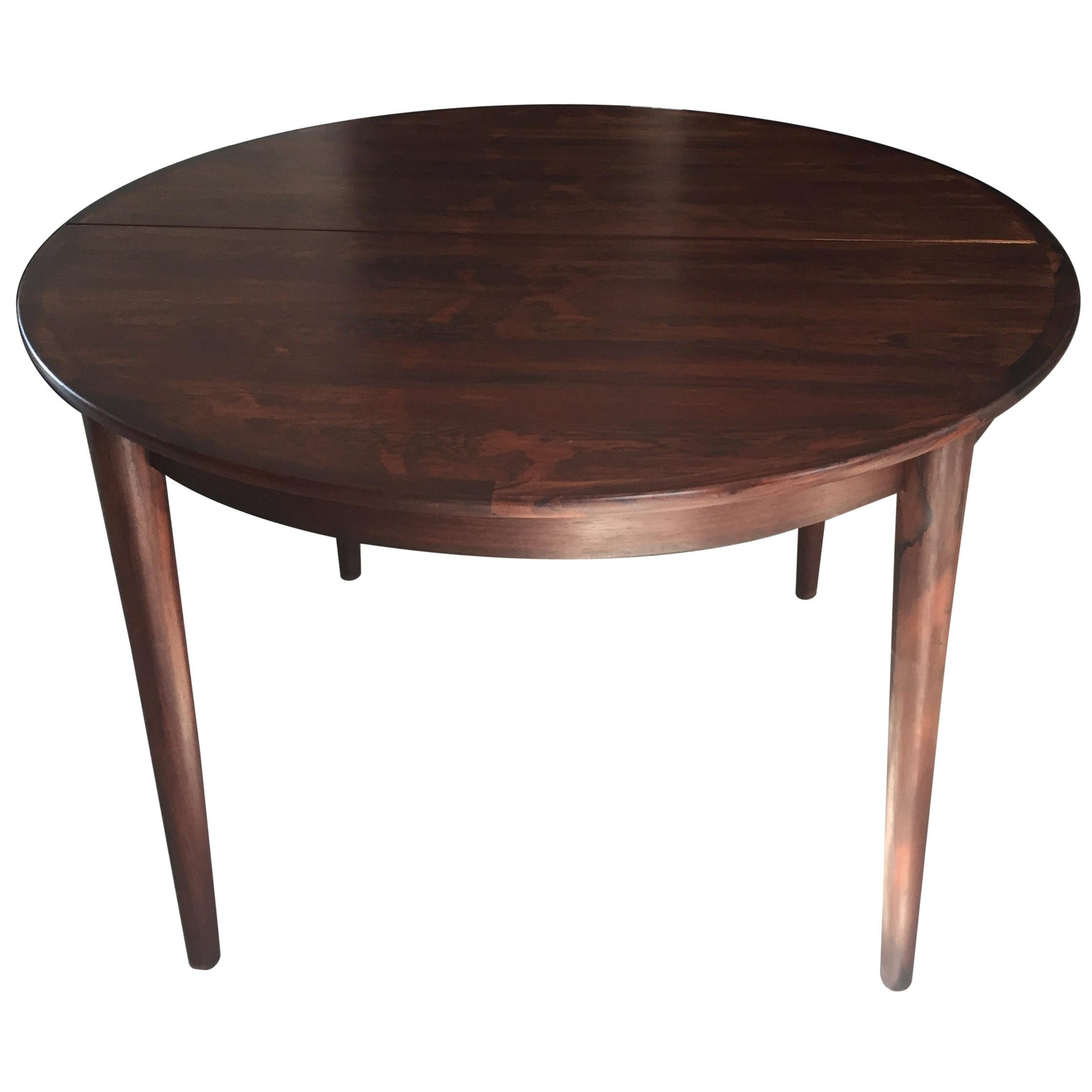 Table MES Mobler Denmark Torring Extendable Round Rosewood
