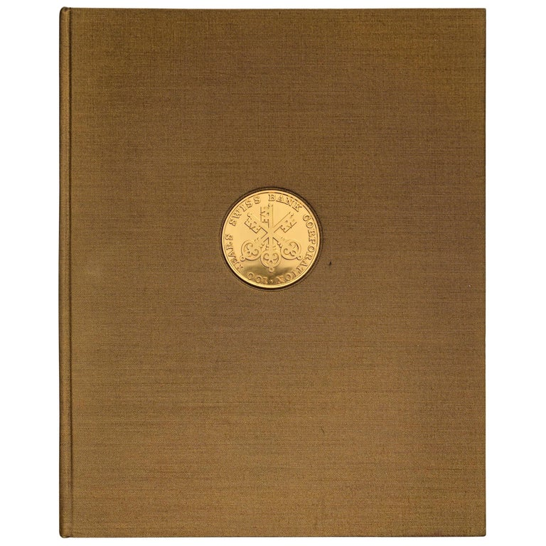 Swiss Bank Corporation 1872-1972 by Hans Bauer For Sale