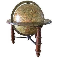 H. Schedler's Terrestrial Globe Copyright, 1889