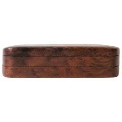 Burl Wood Vanity Jewelry Box