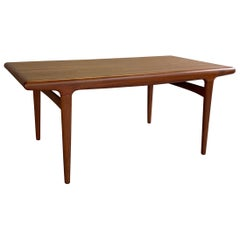 Danish Modern Niels O Moller Teak Extension Dining Table
