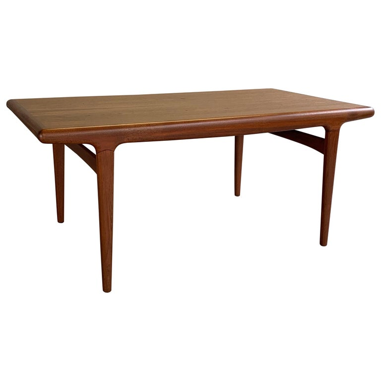 Danish Modern Niels O Moller Teak Extension Dining Table For Sale At
