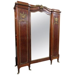 Regency Style Wardrobe Attributed to Forest