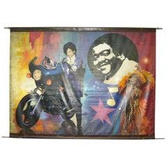 Prince and Tina Turner Carnival Banner