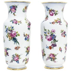 Pair of French Porcelain Vases, Paris