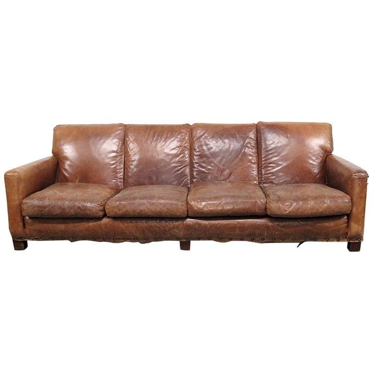 Vintage Mid Century Modern Sofa: Vintage Mid-Century Modern Ralph Lauren Sofa For Sale At