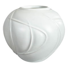 Large Japanese Porcelain Studio Vase