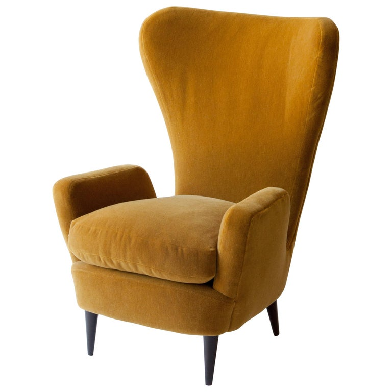1950s Italian Armchair Attributed to Paolo Buffa For Sale
