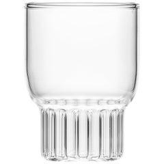 Set of Two Handcrafted Contemporary Rasori Mini Glasses by Felicia Ferrone