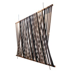 Soft Divider Wool Felt Hanging Screen
