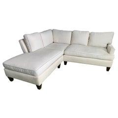 Thibaut 'Madison' Custom Sectional Sofa in Crypton Fabric
