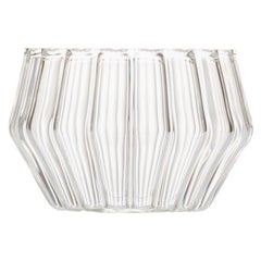 Clear Contemporary Handmade Mixed Small Bowl by Felicia Ferrone