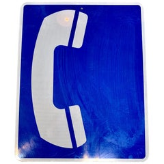 Vintage 'Phone' Highway Sign