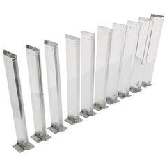 Lucite Baluster