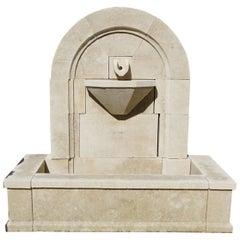 Modern Gadroon Wall Fountain