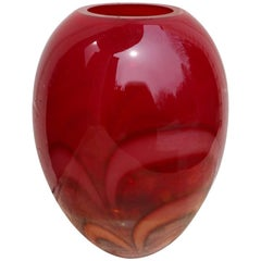 Evolutuion Art Glass Vase by Waterford