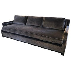 George V Velvet Sofa by Holly Hunt