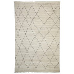 New Contemporary Moroccan Area Rug with Modernist Style and Hygge Vibes